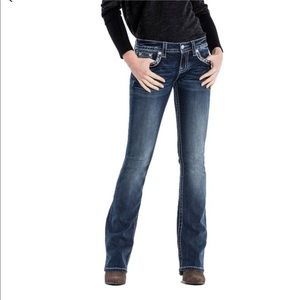 Miss Me | Boot Cut Embellished Jeans size 31